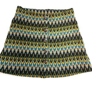 FREE PEOPLE Knit Skirt, L